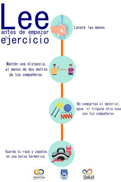 señalética instrucciones